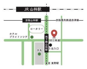 山科区地図